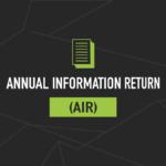 Annual Information Return (AIR)