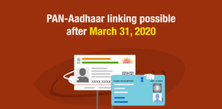 PAN-Aadhaar linking possible after March 31, 2020