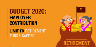Budget 2020: Employer Contribution Limit to Retirement Funds Capped