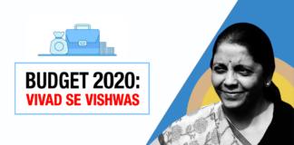 Budget 2020: Vivad se Vishwas