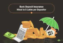 Bank Deposit Insurance Hiked to 5 Lakhs per Depositor