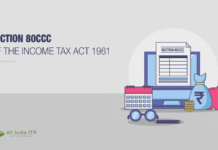 Section 80CCC of the Income Tax Act 1961