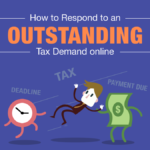How to Respond to an Outstanding Tax Demand online