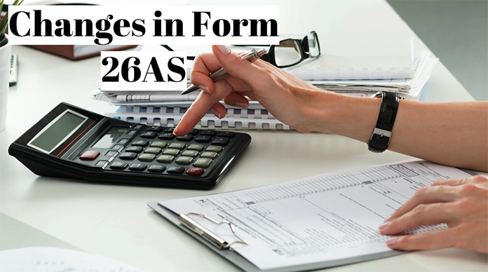 Changes in Form 26AS