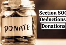 Section 80G Deductions: Donations