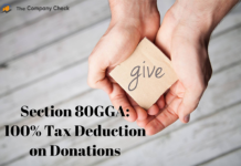 Section 80GGA: 100% Tax Deduction on Donations
