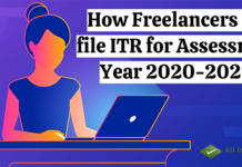 How Freelancers can file ITR for Assessment Year 2020-2021?