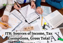 ITR : Sources of Income, Tax Exemptions, Gross Total Income