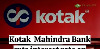 Kotak Mahindra Bank cuts interest rate on Home Loans