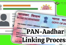 PAN-Aadhar Linking Process