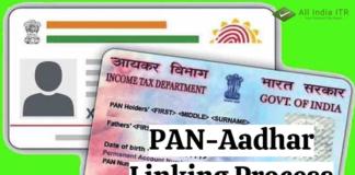 PAN-Aadhar Linking Process