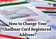 How to Change Your Aadhaar Card Registered Address