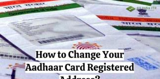 How to Change Your Aadhaar Card Registered Address
