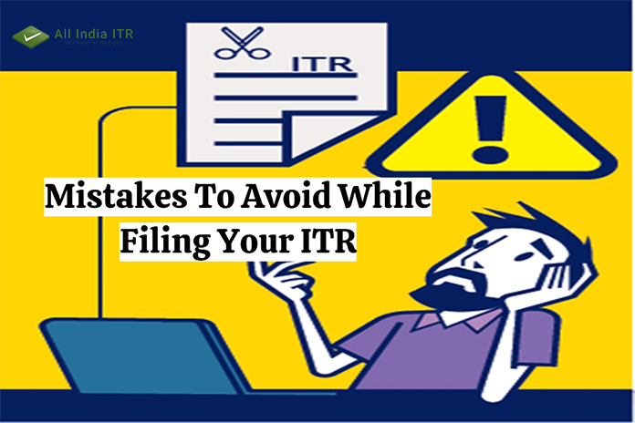 Mistakes To Avoid While Filing Your ITR