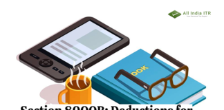 Section 80QQB: Deductions for Royalty Income of Authors