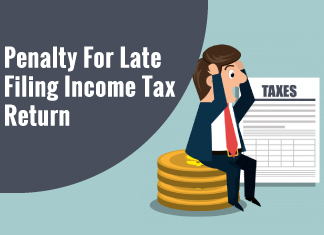 As per the provision under Section 234F of the Income Tax Act,1961, if the taxpayer files a return beyond the due date, a penalty is levied in the event that as referred to in Section 139(1) of the IT Act.
