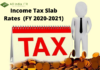 Income Tax Slab Rates (FY 2020-2021)