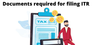 Documents required for filing ITR