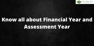 Know all About Financial Year and Assessment Year (1)
