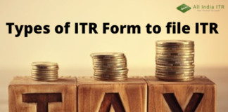 Which ITR form is for whom